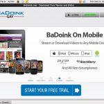 BaDoink Gay Rocket Pay