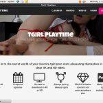 Tgirlplaytime Discount Link Code