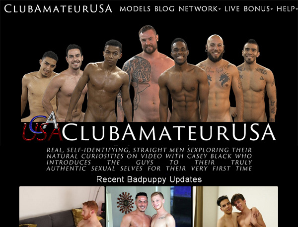 Club Amateur USA Join Form