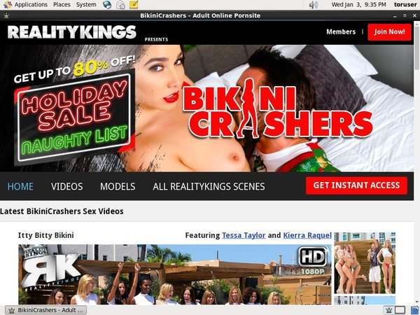 Free Trial Bikini Crashers Membership