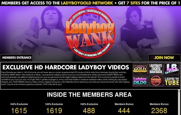 Ladyboywank Join With ClickandBuy