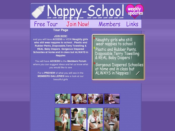 Login Nappy School Free