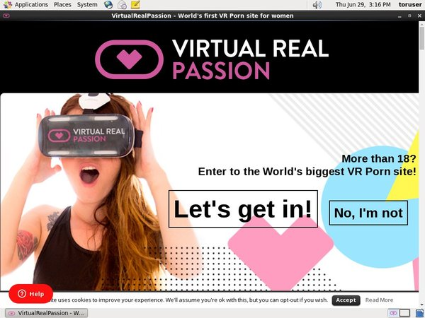 Virtualrealpassion.com Check Out