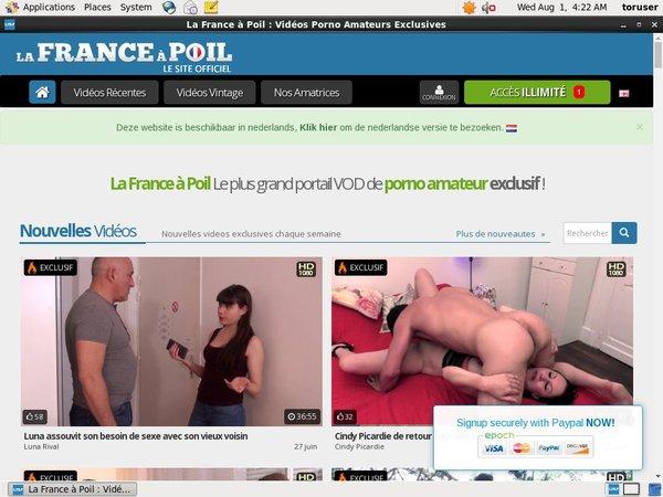 La France A Poil Discreet