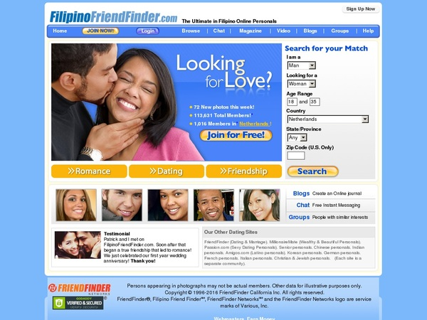 Coupons Filipino Friend Finder