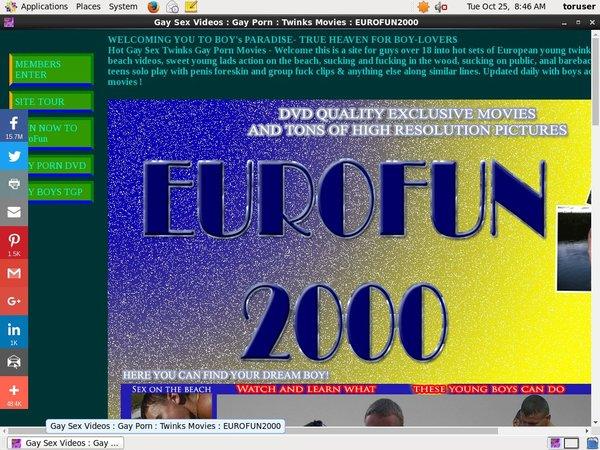 Eurofun 2000 By SMS