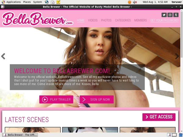 How To Get Bellabrewer.com Account
