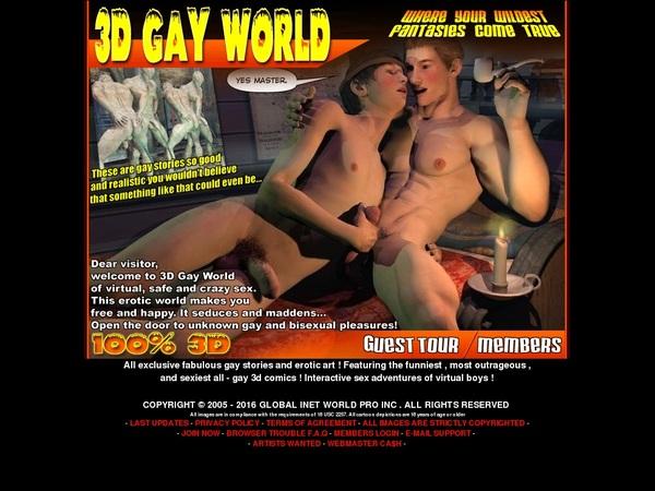 3dgayworld.com Discount Save 50%