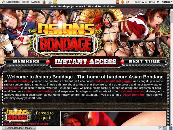 Asians Bondage Free Trial Join