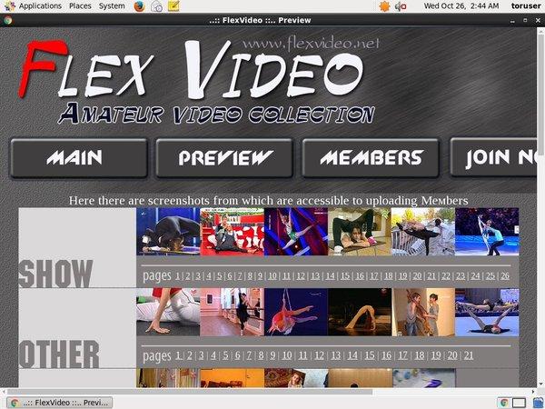 Free Flexvideo.net Subscription