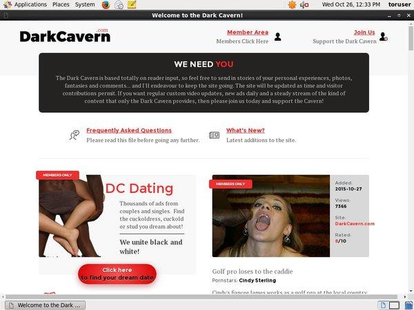 Get Dark Cavern Membership Discount