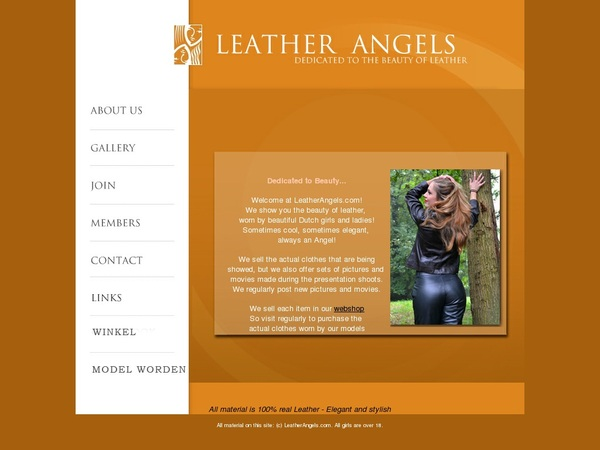 Login Leather Angels Free
