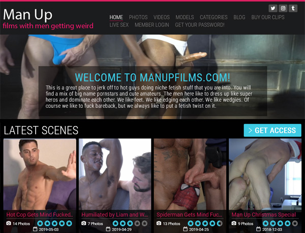 Man Up Films Payment Options
