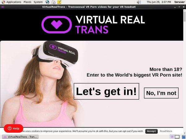 Virtual Real Trans Discount Porno