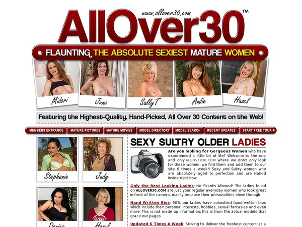 All Over 30 Original Discount Limited