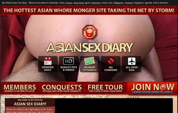 Free Asian Sex Diary Discount Offer