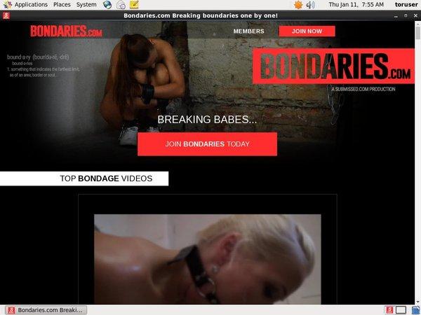 How To Get Bondaries.com For Free