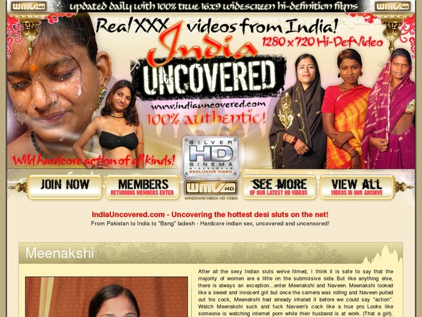 India Uncovered Discount Site