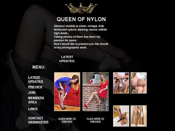 Queen Of Nylon Free Account Login