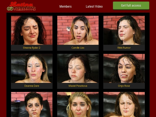 Latinathroats Trial Access