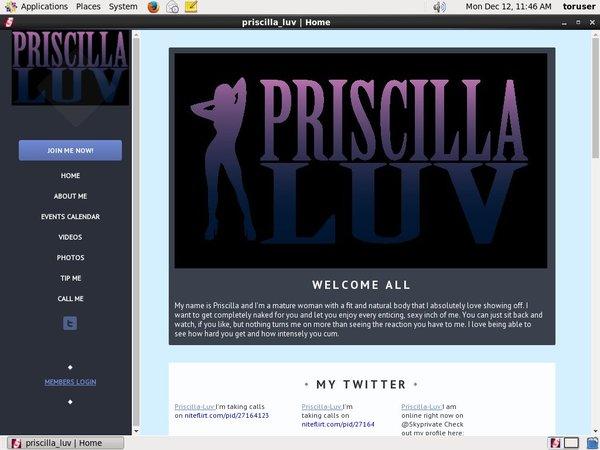 Priscilla Luv Idealgasm