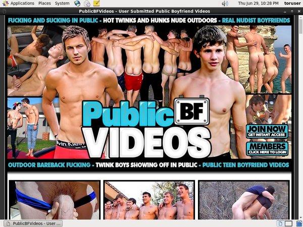 Public BF Videos Vend-o.com