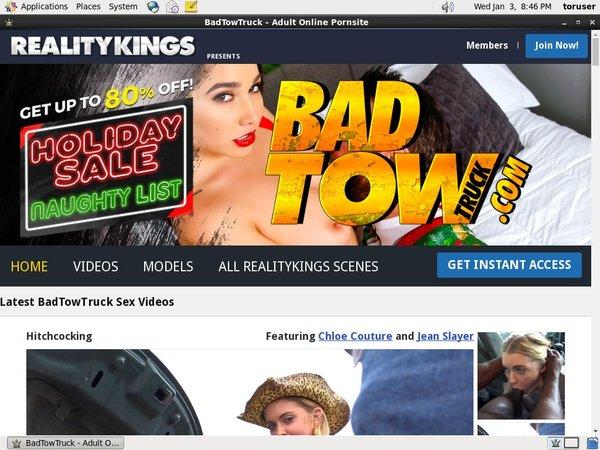 Free Badtowtruck.com Membership Discount