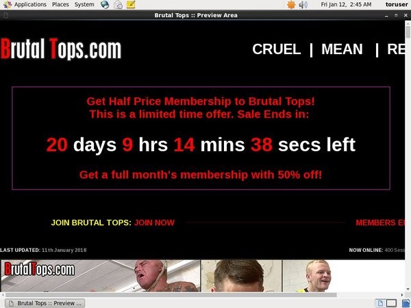 Brutaltops.com With Directpay