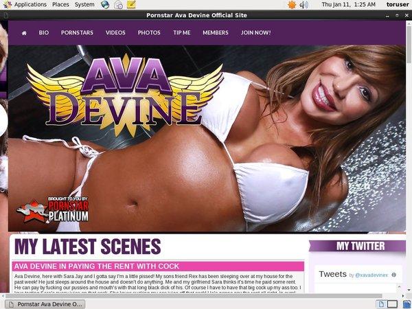 Get Inside Ava Devine